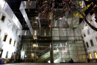 Patio del Centro de Cultura Contemporáneo de Barcelona (CCCB).- JOAN SÁNCHEZ